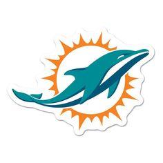 Miami Dolphins Logo on the GoGo