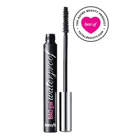 """Best Waterproof Mascara No. 3: Benefit BADgal Waterproof Mascara, $19 TotalBeauty.com Average Member Rating: 8.8*  Why it's great: This Benefit buy is the formula to beat, according to readers who have oily skin or live in humid climates. """"If you're looking for a mascara that stays on, makes your lashes full and long and [washes off] easily, this is the one to try,"""" one reviewer writes."""