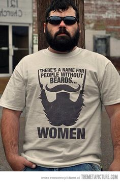The importance of beards…