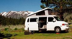 VW Eurovan Camper my seventh car and my first true house on wheels