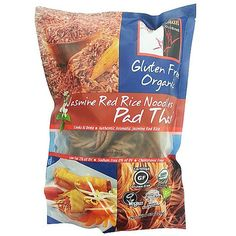 Looking to experiment with some healthy Asian cooking? Try these Brown Rice Pad Thai Noodles #organic #gluten-free #thai noodles #pad thai