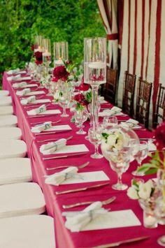pink wedding pink overlay
