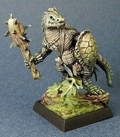 Dark Heaven Legends (Lizardman With Club 3705) 25mm Miniatures