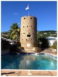 Blackbeard's Castle named for the pirate who frequently visited St. Thomas.   http://2744.mtravel.com/romantic-travel  We can book your dream Honeymoon for you.