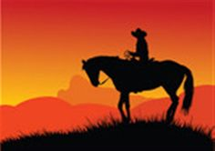 Cowboy Sunset - Explore the World with Travel Nerd Nici, one Country at a Time. http://TravelNerdNici.com