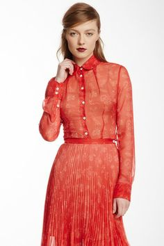 Vivienne Westwood Red Label Tudor Garden Blouse by Non Specific on @HauteLook