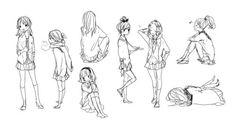 Favim, Character Creation, Drawing Tips, Manga Anime, Anime Art, Kawaii Anime, Black And White, Drawings, Amazing