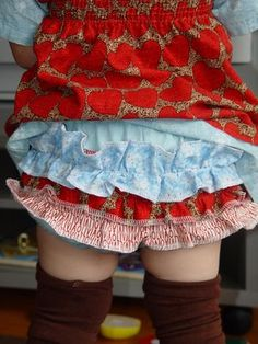 ruffle bloomers tutorial