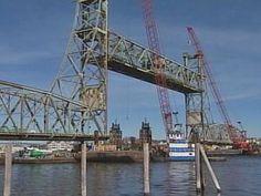 Removing the Memorial Bridge Feb 8, 2012