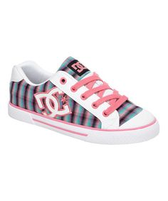 Another great find on #zulily! Pink & Blue Chelsea J Sneaker - Women by DC #zulilyfinds