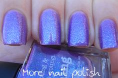 piCture pOlish 'Warning' swatched by More Nail Polish!