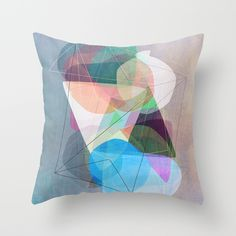 Graphic 117 X Throw Pillow by Mareike Bohmer on Society6