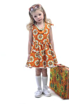 Skandi Play Dress | Rock Your Kid summer 2014 | Girls fashion