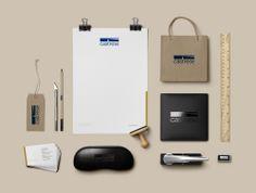 Uma identidade com estilo. Criamos a nova roupagem da empresa de consultoria Castrese com elegância e assertividade.