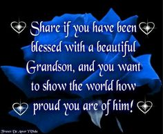 Love my Grandson <3  <3  <3..even though i don't get to see him much. makes me sad. but they did it.