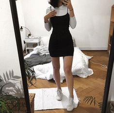 Indie Outfits, Teen Fashion Outfits, Retro Outfits, Girly Outfits, Cute Casual Outfits, Look Fashion, Stylish Outfits, Vintage Outfits, Hipster Fashion