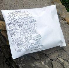 Custom Printed Tyvek mailers shipping bags Marketing Envelopes 10 X 13 colors