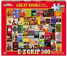 GREAT BOOKS - 300 Piece EZ Grip Jigsaw Puzzle