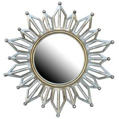 Gold Starburst Mirror