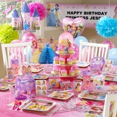 Disney Princess Ultimate Birthday Party Pack