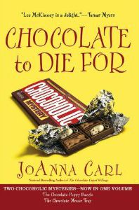 Awesome Deal! Not sure how long this will last, but just saw that this Chocoholic Mystery volume, which contains both The Chocolate Puppy Puzzle and The Chocolate Mouse Trap (4th & 5th in series), is currently 80% OFF. Only $2.75 for this paperback!