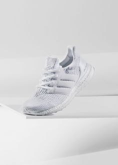 "556c62f5e6e85 Adidas Ultra Boost 3.0 ""Triple White""  Adidas  Ultra  Boost  Primeknit   Fashion  Streetwear  Style  Urban  Lookbook  Photography  Footwear   Sneakers  Kicks ..."