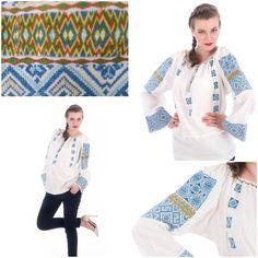 Vintage, unicat.. #24iunIE #desarbatoare Unique Vintage, Blouses, Traditional, Coat, Jackets, Fashion, Down Jackets, Moda, Sewing Coat