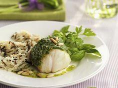 Anglerfisch mit Reis und Pestosoße ist ein Rezept mit frischen Zutaten aus der Kategorie Meerwasserfisch. Probieren Sie dieses und weitere Rezepte von EAT SMARTER!