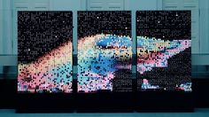 Type Reinvented, by Monotype and Field Interactive Installation, Interactive Art, Installation Art, Art Installations, Typo Design, Typography Design, Graphic Design, Creators Project, New Media Art