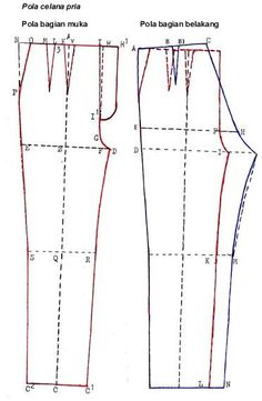 CARA MENGAMBIL UKURAN POLA CELANA PRIA Panjang celana, diukur dari pinggang sampai panjang yang diinginkan. Lingkar pinggang, diukur ...