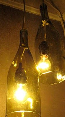 Wine bottle lights!!!