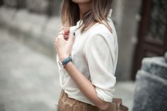 @fashionagony / Ukraine #CLUSE #watch #minimalistic #style #fashion #streetstyle