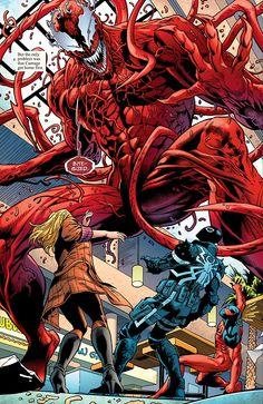 Carnage vs. Agent Venom