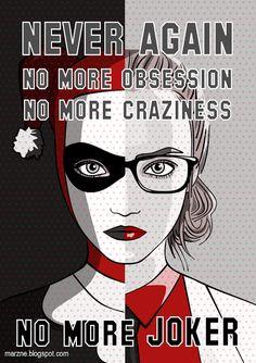 Harley Quinn - Never Again / No More Joker