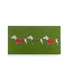 kate spade new york holiday cards dachshunds #Dillards