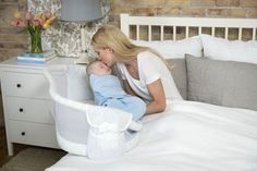 Halo Bassinest - we love the swivel feature, which makes it easier to get baby in and out in those days and weeks after birth!