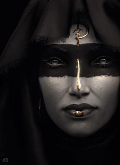 Whatever androgynous gender this is, I want to be it.  Dark Elf by Intervain.deviantart.com on @deviantART