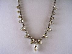 Vintage Jewelry Necklace Vintage Signed Weiss by myshininglights, $68.00