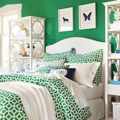 Navy and green for an unsurpassed preppy combo- follow us on www.birdaria.com like it love it share it click it pin it!!!