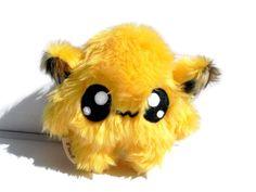 Fluse Kawaii Plush cute Monster stuffed animal yellow von Fluse123