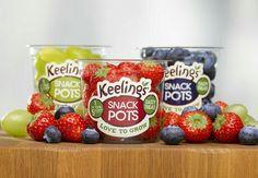 Keelings snack pots