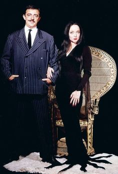 Morticia and Gomez: