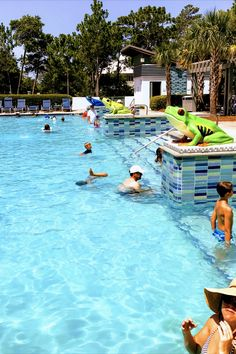 The Watercolor, Florida community offers several pools to enjoy on those red flag days. #watercolorfloridapools #watercolorfloridapools Us Beaches, Florida Beaches, Beach Vacation Spots, Watercolor Florida, Best Family Beaches, Florida Pool, Fort Walton Beach, Red Flag, Beach Club