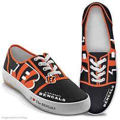 I Love The Bengals Women's Shoes