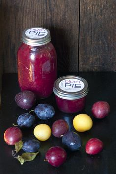 Plum Pie Filling Canning Recipe. I made this this year with plums from our neighbor's tree. Turned out delicious.
