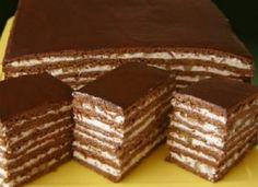 Druh receptu: Sladkosti - Page 63 of 326 - Mňamky-Recepty. Russian Cakes, Russian Desserts, Pastry Recipes, Cake Recipes, Dessert Recipes, Ukrainian Recipes, Russian Recipes, Food Cakes, Cupcake Cakes