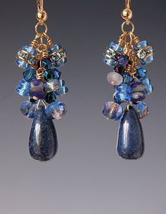 ~~Beaded earrings by Kay Bonitz~~