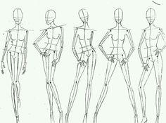 *** Strike a Pose. Fashion Sketch Template, Fashion Figure Templates, Fashion Model Sketch, Fashion Design Template, Fashion Sketches, Fashion Illustration Face, Fashion Illustration Tutorial, Illustration Mode, Fashion Sketchbook