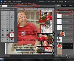 keepscrappin designs: 1.18.13 - New Releases and Photo Blending Tutorial