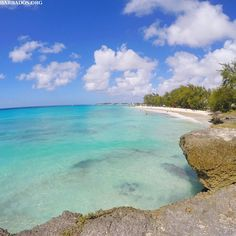 Dive into the crystal clear waters at Miami Beach on the south coast of Barbados!
